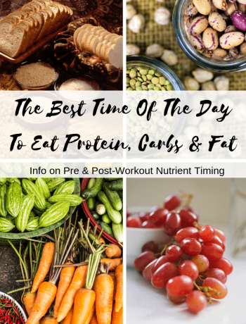 The Best Time Of The Day To Eat Protein, Carbs & Fat. Info on Nutrient Timing For Athletes #sportsnutrition #nutrientiming #athletes #macros