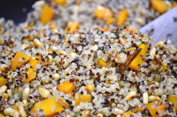 Roasted Squash Quinoa Bowl