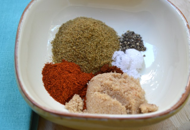 Spices for Knock Your Socks Off Veggie Burgers