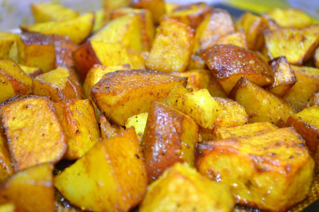 Roasted Turmeric Potatoes