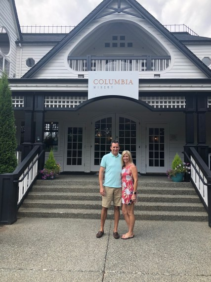 Mike and me at Columbia Winery Seattle