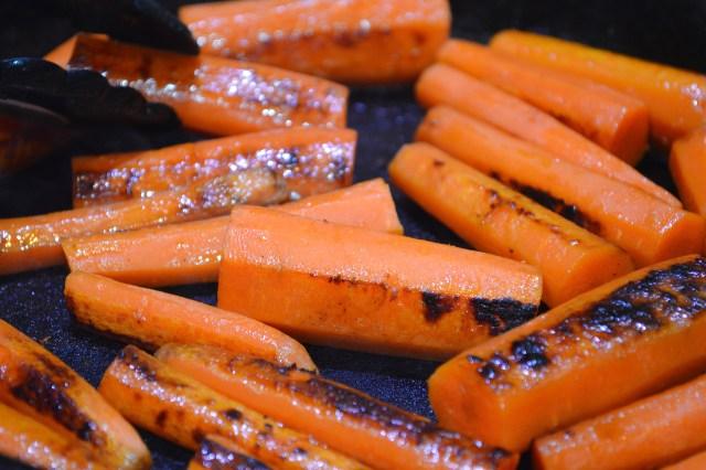 Pan Seared Carrots