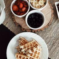 Sourdough Starter Waffles