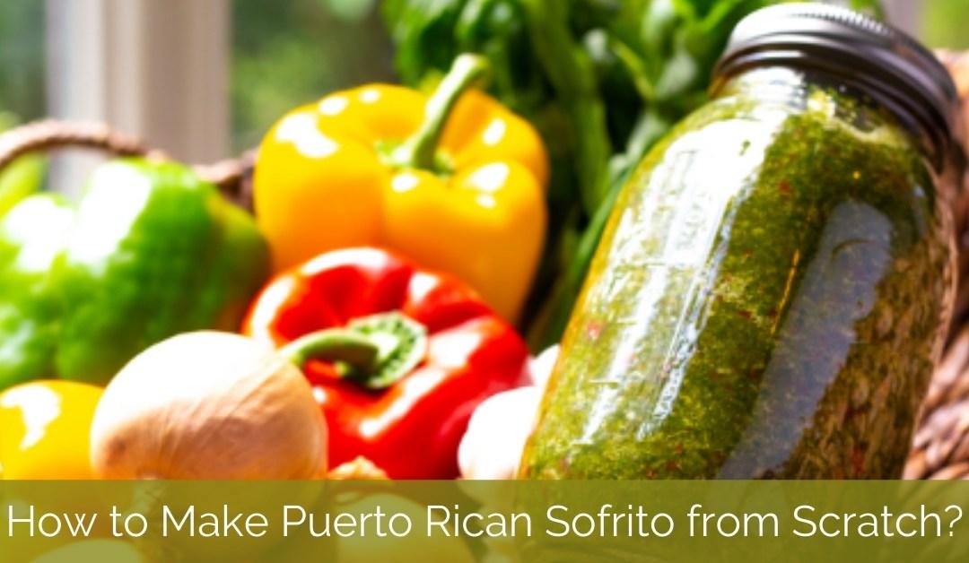 Authentic Puerto Rican Sofrito Recipe