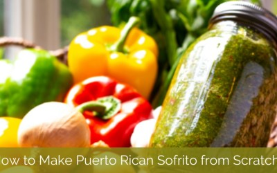 How to Make Puerto Rican Sofrito from Scratch?