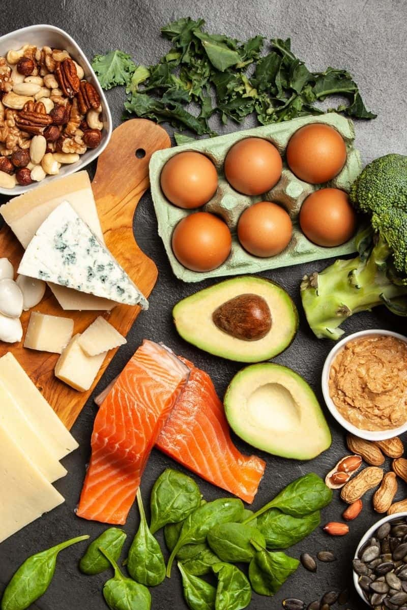 typical foods on a keto diet