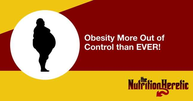 Obesity more out of control than ever