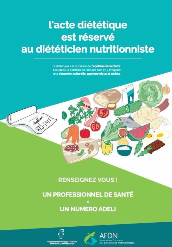 diététicien ou nutritionniste