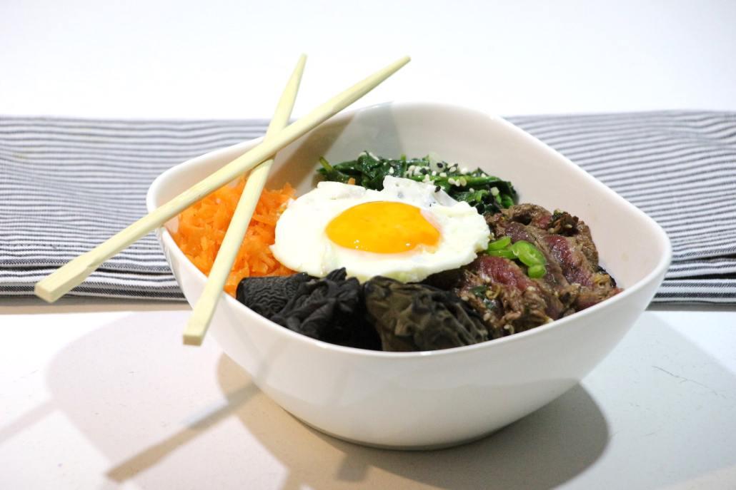bibimbap coréen express