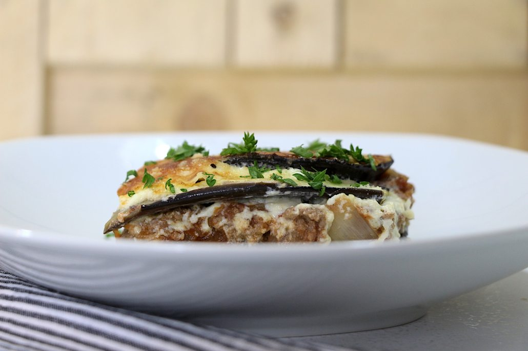 moussaka light au boeuf haché