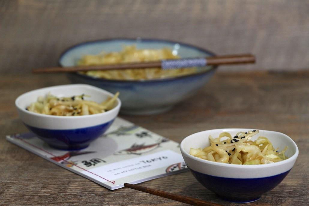 salade de chou japonaise