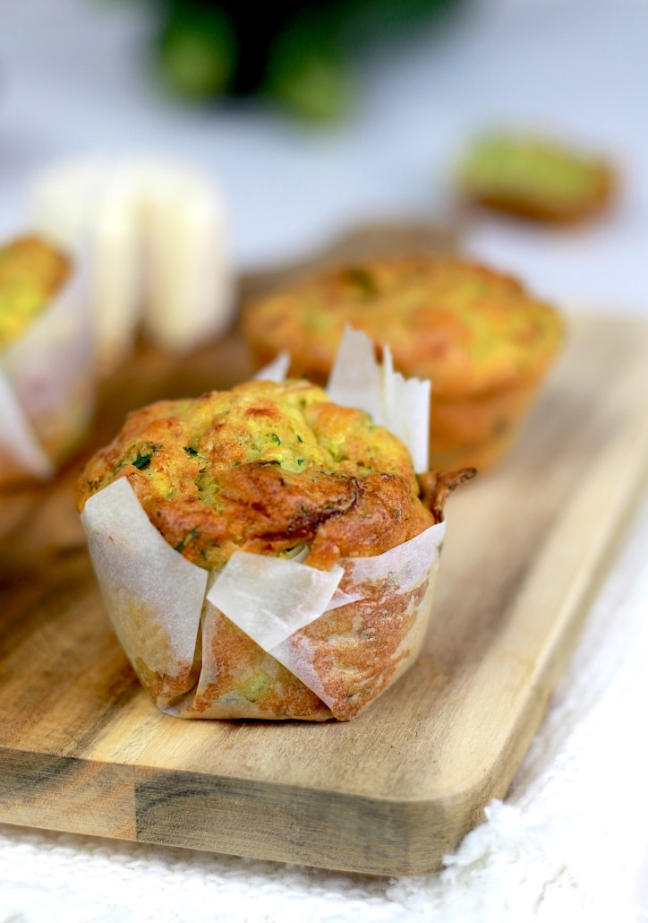 mini cake courgette fromage