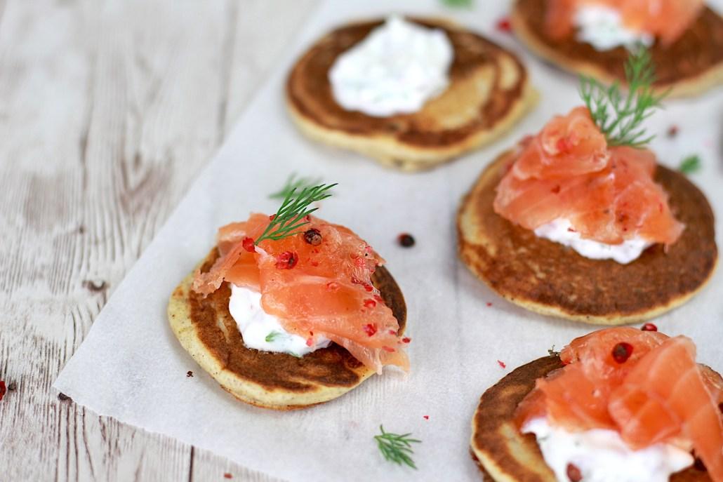 toast de saumon gravlax