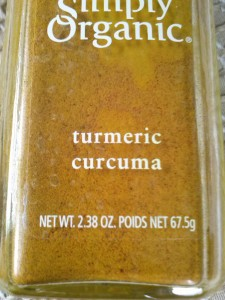 67.5 g bottle of turmeric