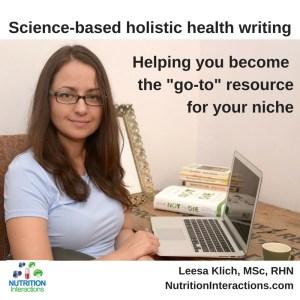 Health writing