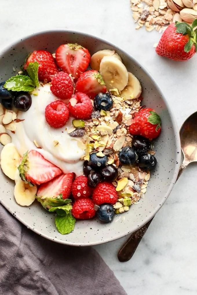 Simple Healthy Muesli