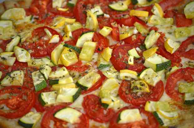 tomatoes and zucchini