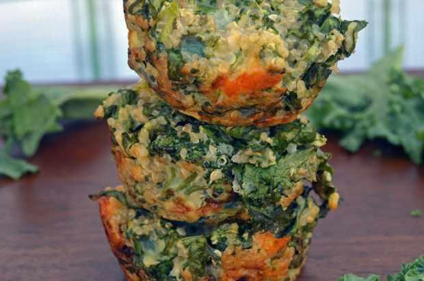 green quinoa muffins 2
