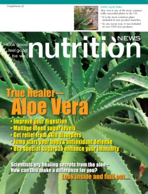 Nutrition News Aloe Vera cover image