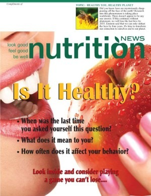 Nutrition News Is It Healthy? Cover Image