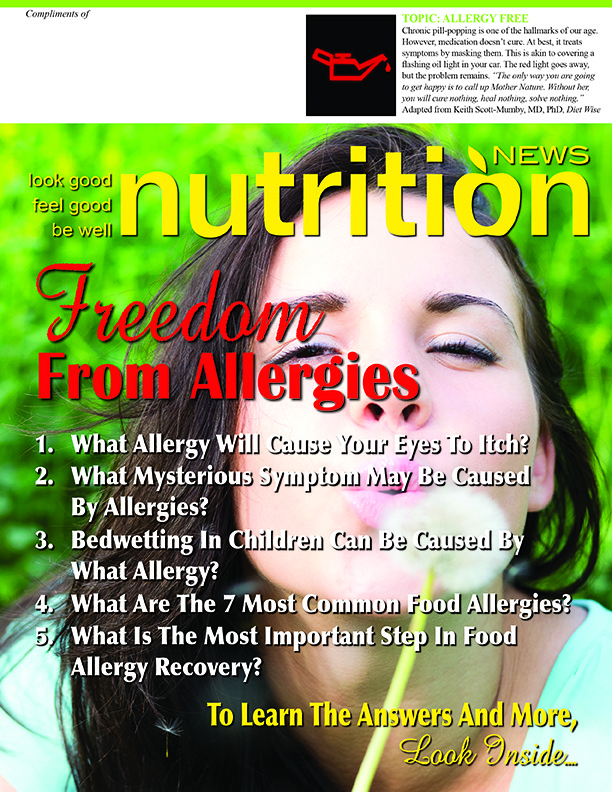 Nutrition News Allergy Free Cover Image