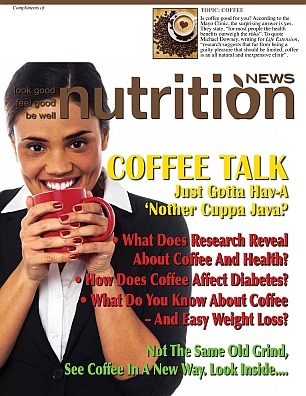 Nutrition News Coffee Talk Cover