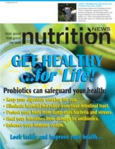 Nutrition News Probiotics Cover