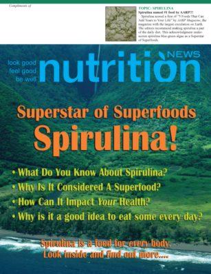 Nutrition News Spirulina cover image