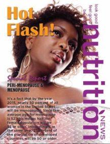 Nutrition News Women's Health Series Hot Flash: Perimenopause