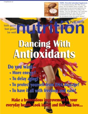 Nutrition News Dancing With Antioxidants Cover