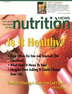 Nutrition News Is It Healthy Cover Image