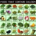 Plant based foods that contain calcium
