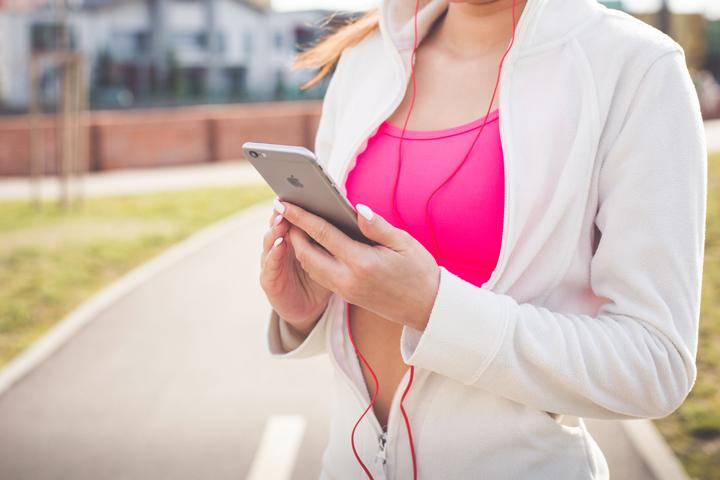 Petra Scott exercising