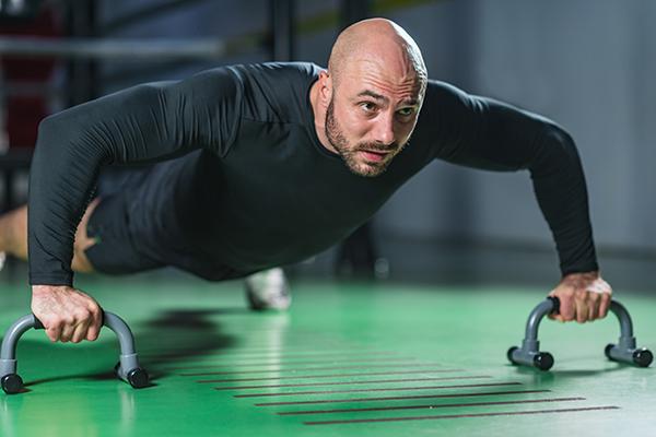 بدء تدريب اللياقة البدنية في سن الرشد