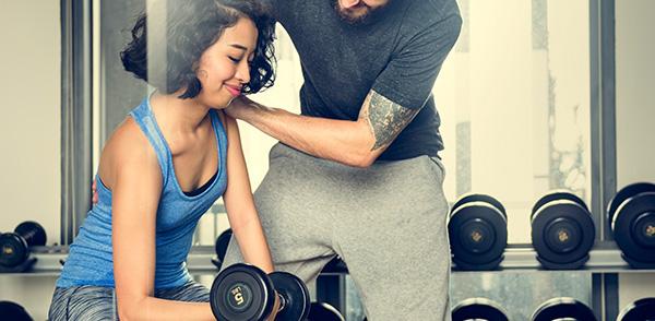 التدريب مع شريك