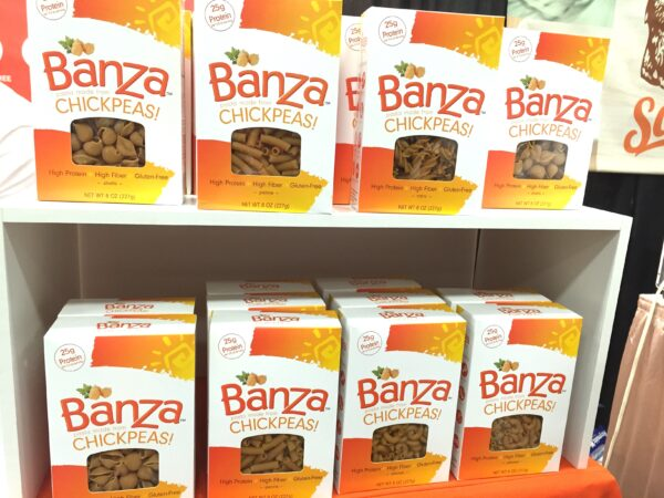 Banza pasta made from CHICKPEAS