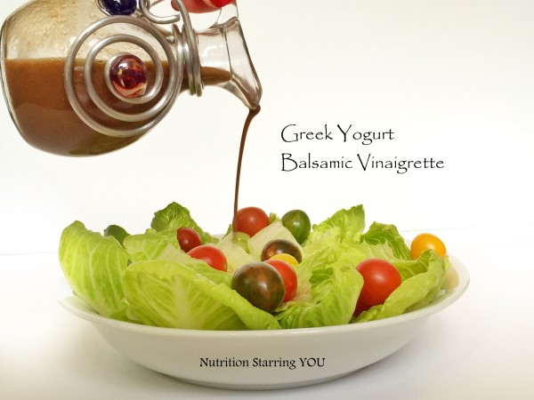 Greek Yogurt Balsamic Vinaigrette