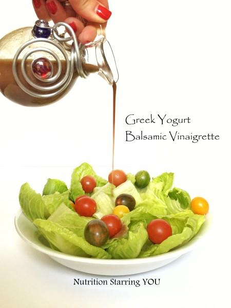 Greek Yogurt Balsamic Vinaigrette