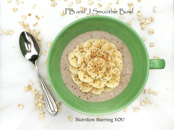PB and J Smoothie Bowl