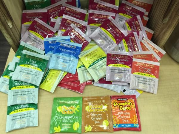 Bigelow Tea seasonal flavors