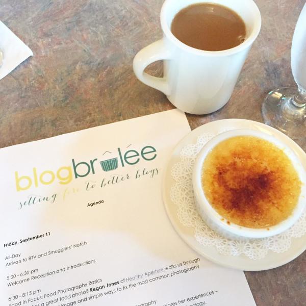 Creme Brulee at Blog Brulee