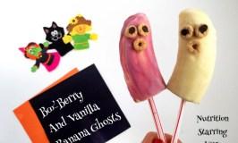 BooBerry and Vanilla Banana Ghosts