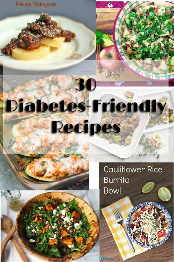 30 Diabetes-Friendly Recipes