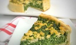 Vegan Spinach Tofu Quiche