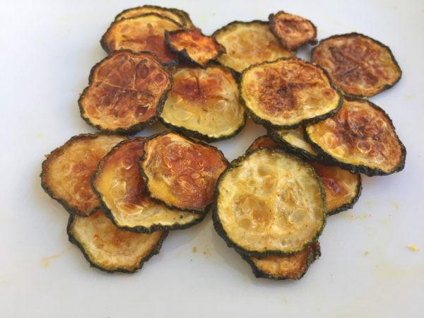 Garlic Zucchini Chips