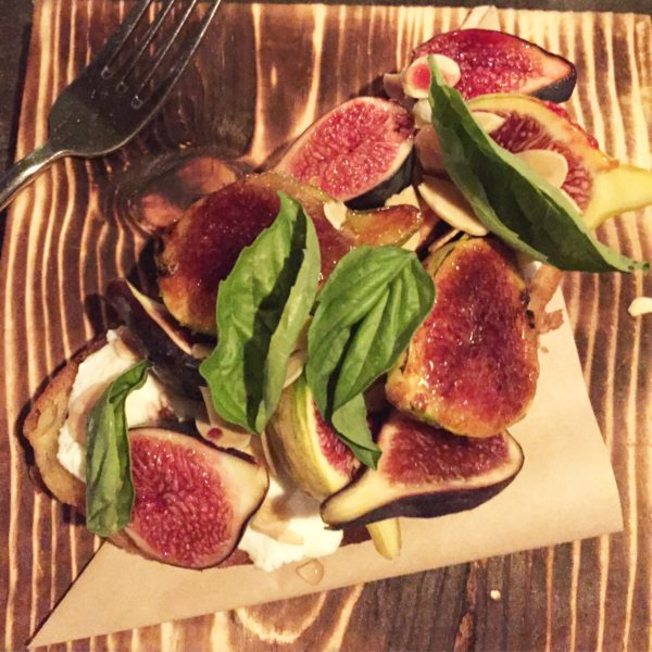 Fallbrook Fig Toast