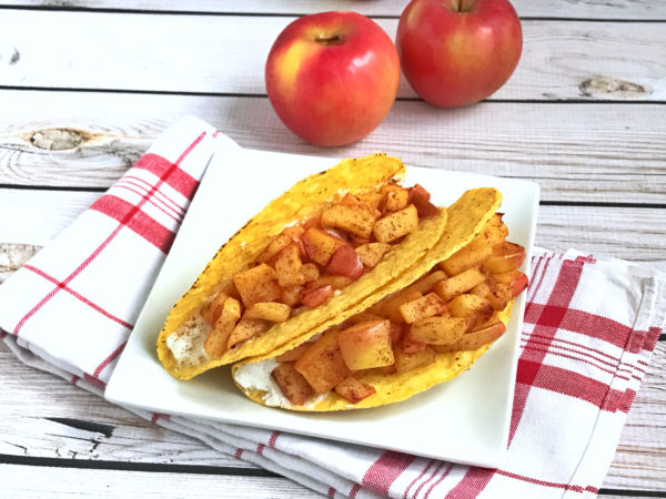 Apple Pie Breakfast Tacos