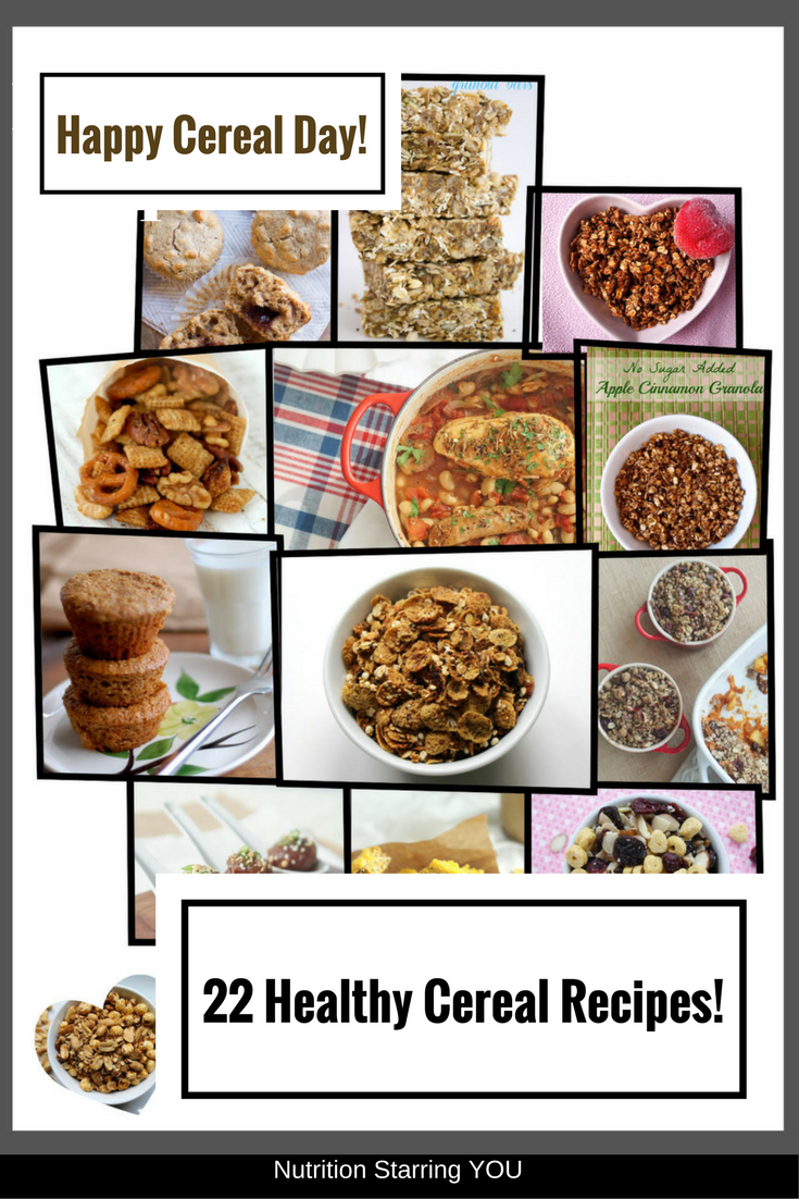 Healthy Cereal Recipe Roundup