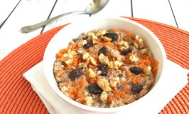 Protein-Packed Carrot Cake Overnight Oats