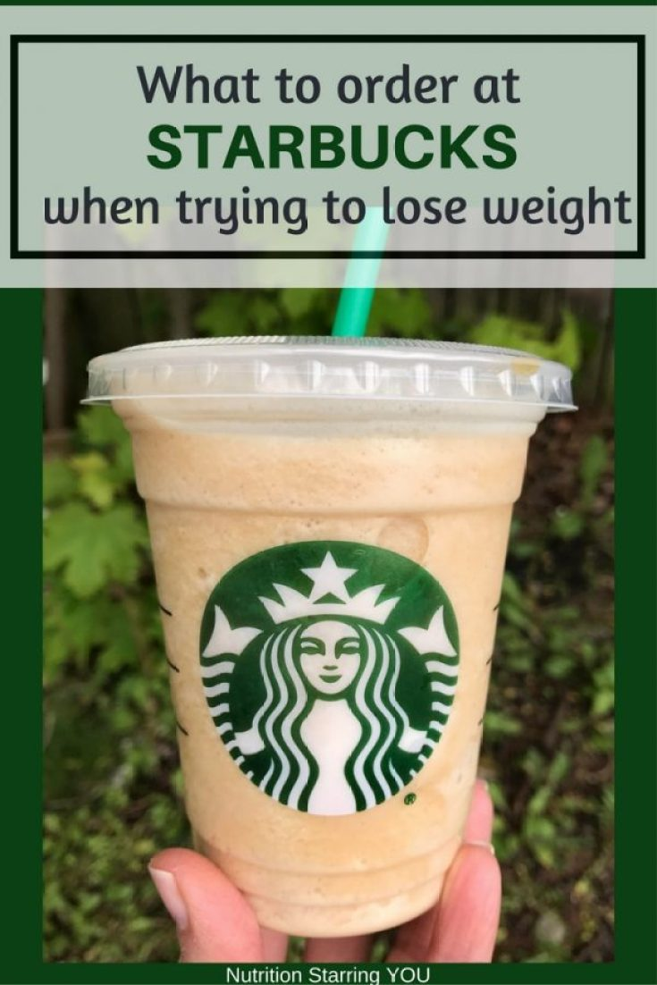 What to Order at Starbucks When Trying to Lose Weight